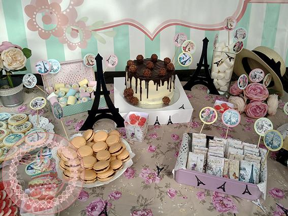 Mesa dulce Paris Vintage 3
